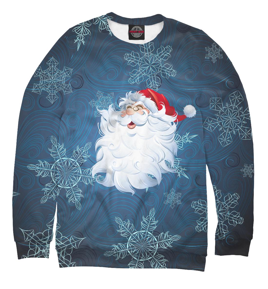 Купить Веселый Дед Мороз, Printbar, Свитшоты, NOV-514464-swi-2