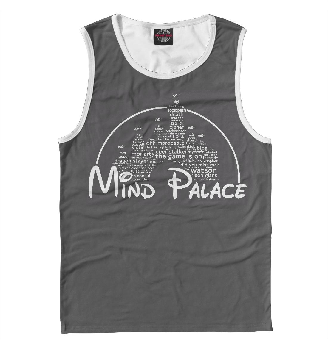Купить Mind Palace, Printbar, Майки, SHE-616207-may-2