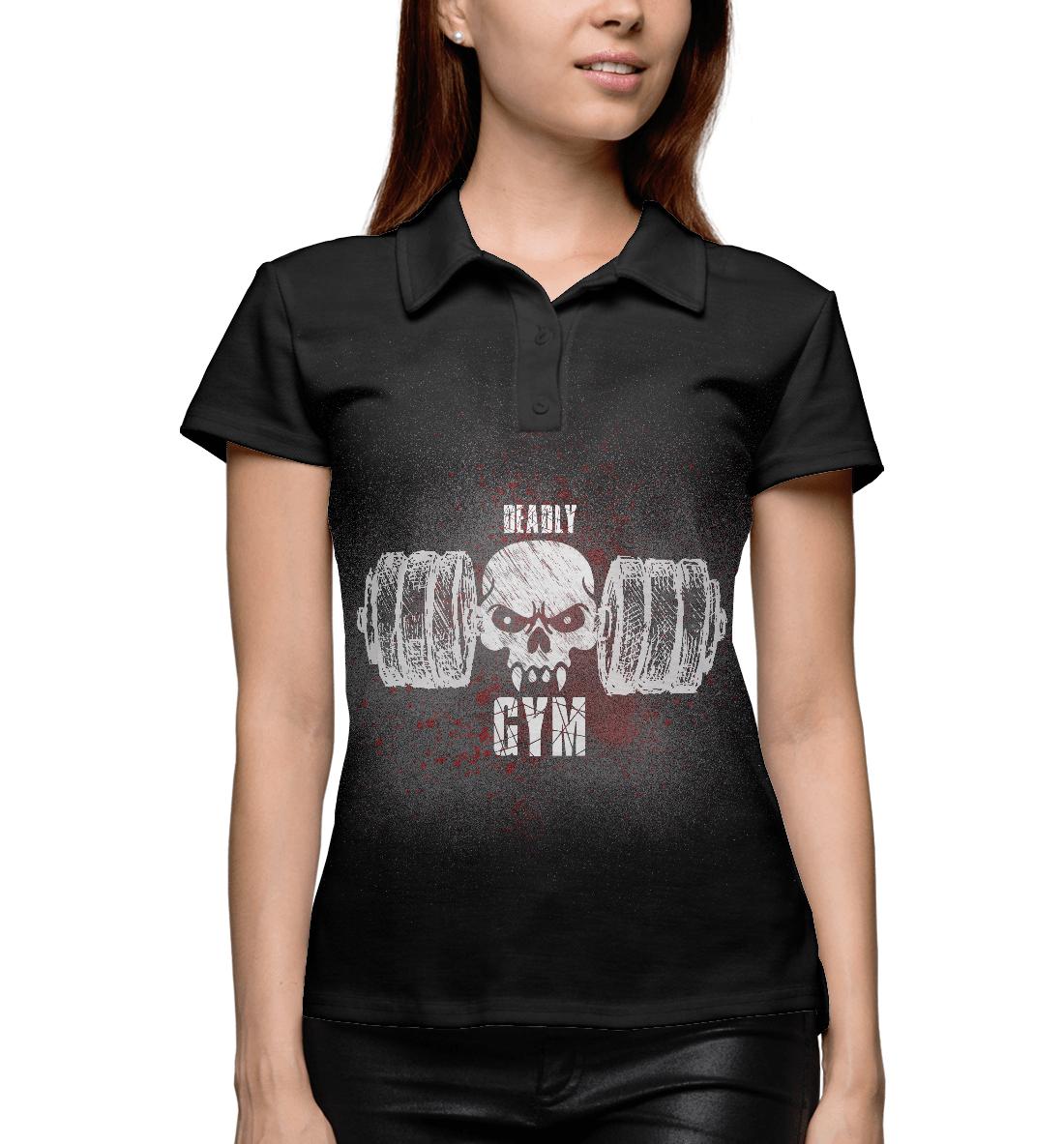Купить Deadly GYM II, Printbar, Поло, FIT-593977-pol-1