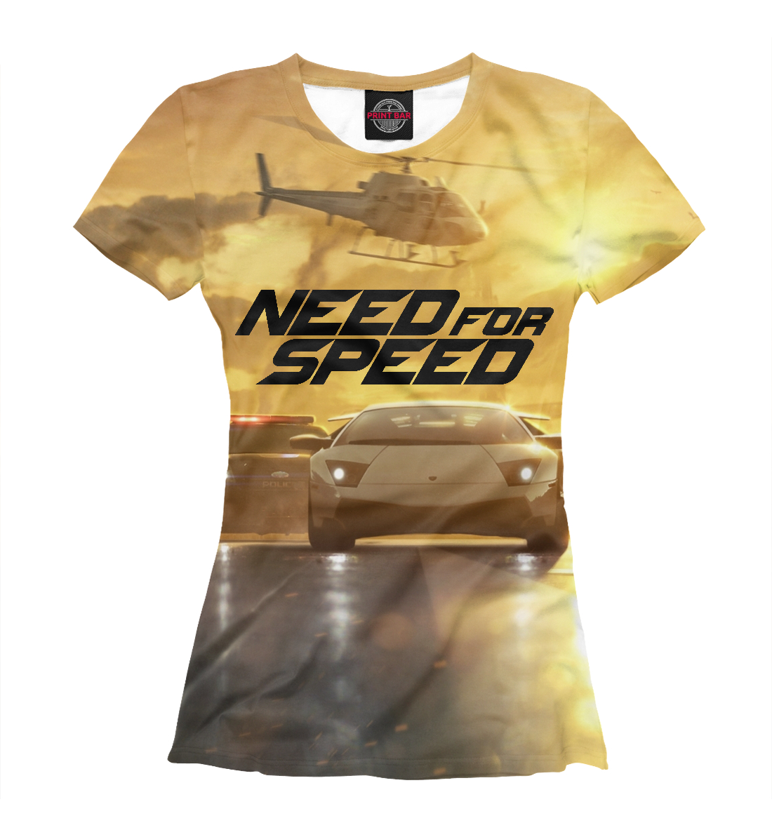 Купить Need For Speed, Printbar, Футболки, RPG-782933-fut-1