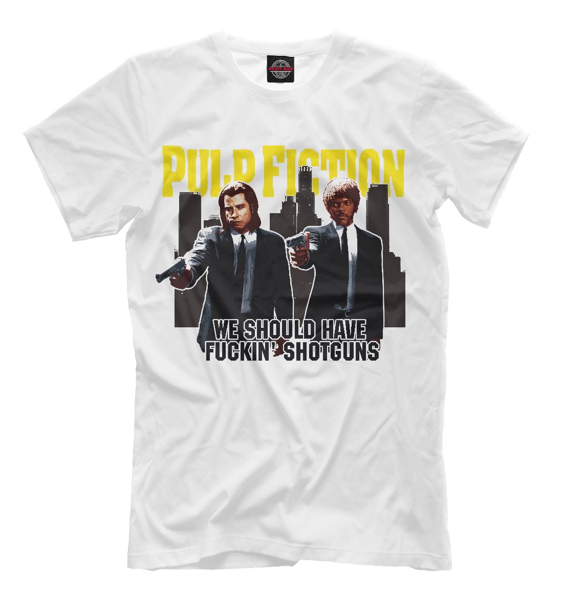 Купить Pulp Fiction (криминально чтиво), Printbar, Футболки, KML-457093-fut-2