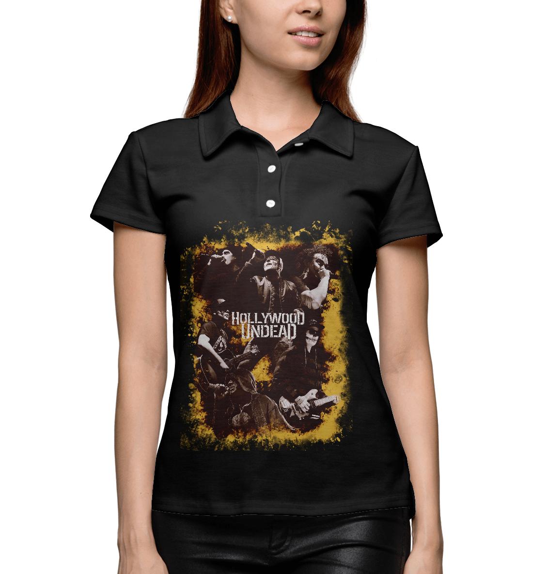 Купить Hollywood Undead 4L, Printbar, Поло, HLW-429203-pol-1