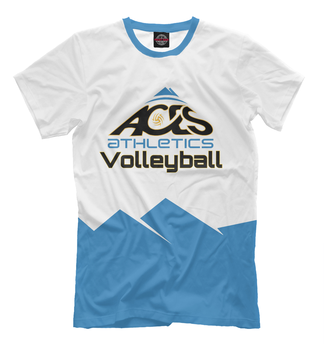 Купить Aces Athletics volleyball, Printbar, Футболки, VLB-299450-fut-2