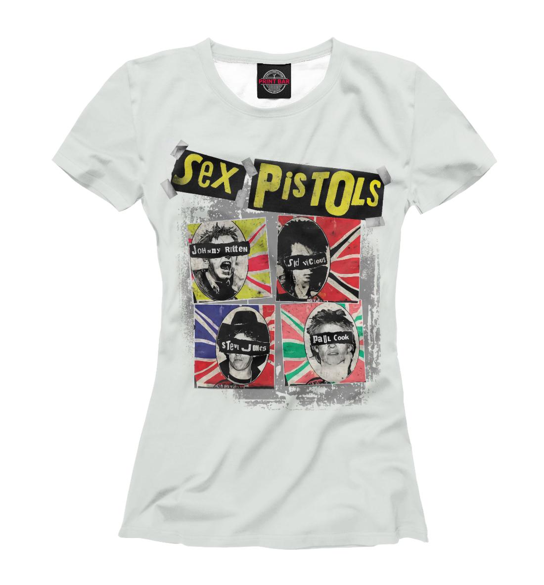 Купить Sex Pistols, Printbar, Футболки, MZK-849041-fut-1