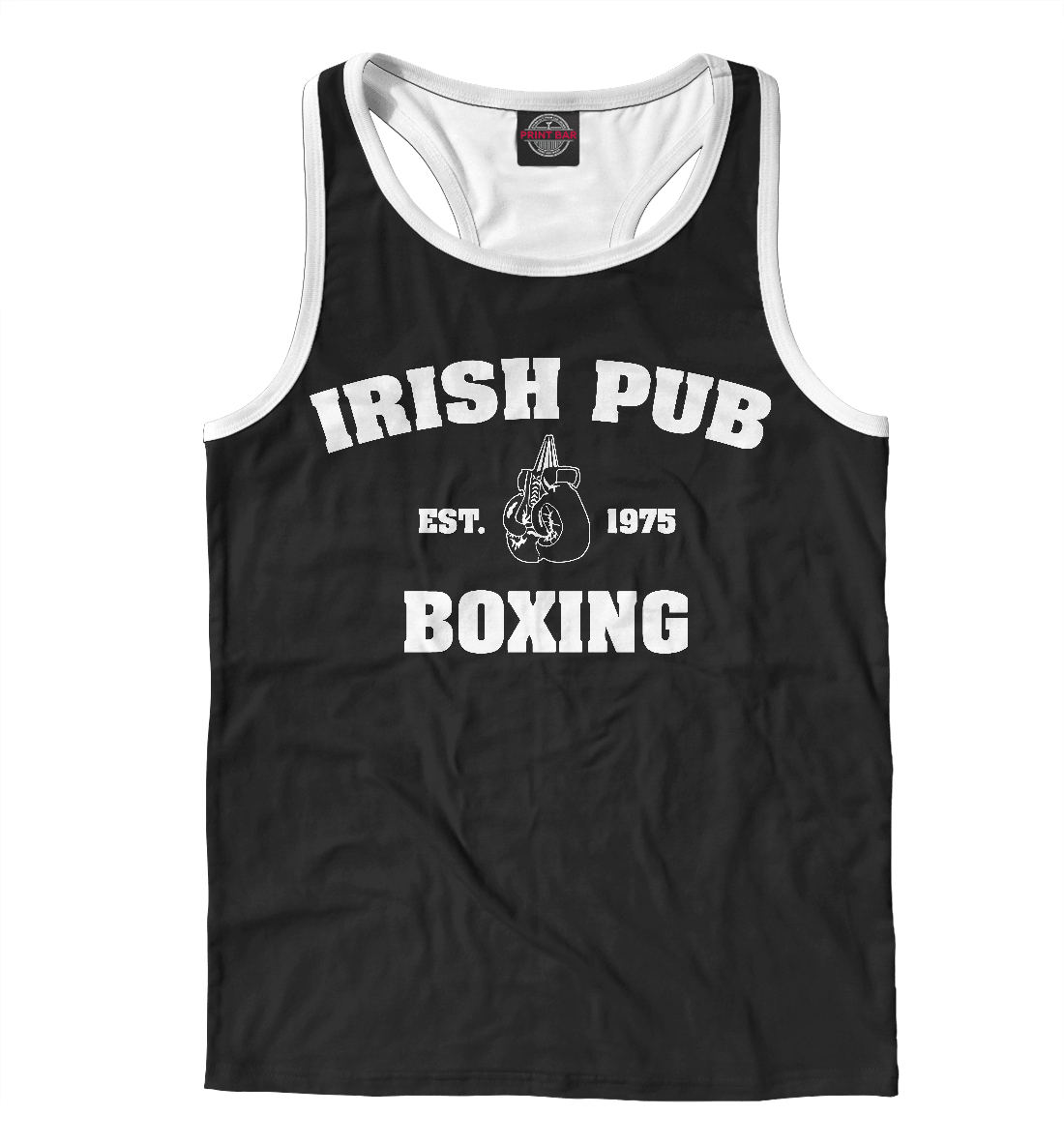 Купить Irish Pub Boxing, Printbar, Майки борцовки, EDI-526090-mayb-2
