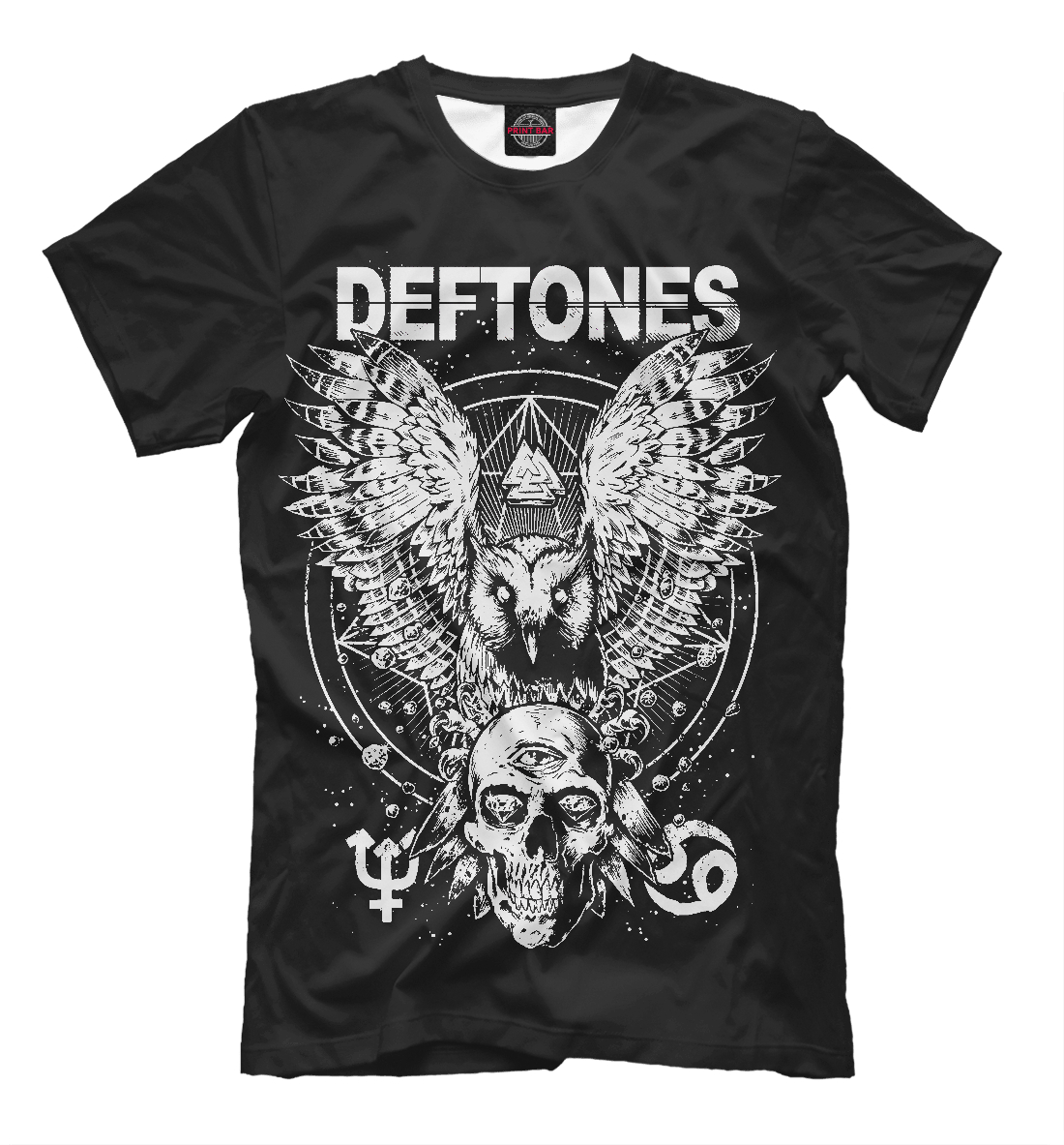Купить Deftones, Printbar, Футболки, DFT-228363-fut-2