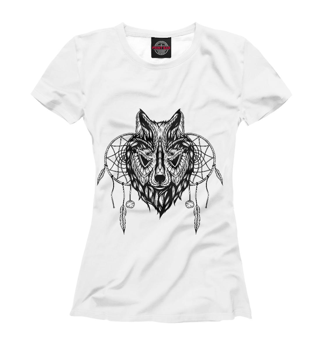 Купить Этно-волк, Printbar, Футболки, VLF-905850-fut-1