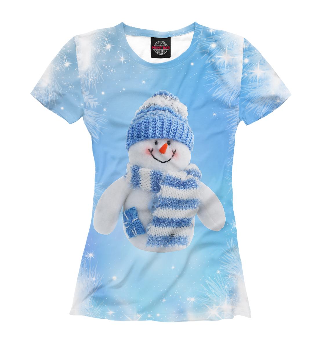 Купить Снеговик, Printbar, Футболки, NYV-271794-fut-1
