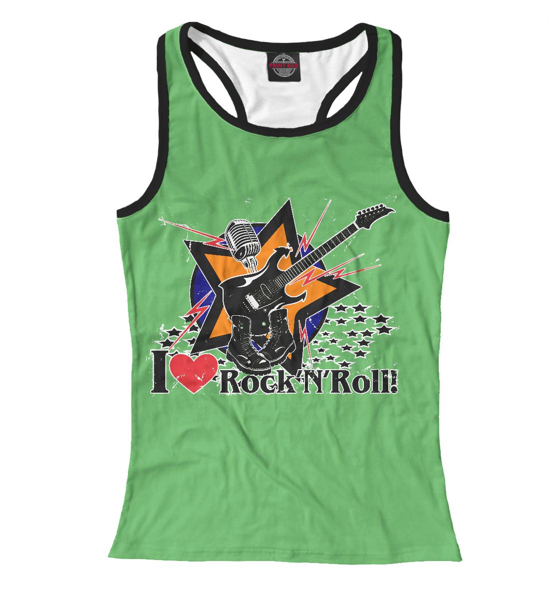 Купить I love Rock-n-nRoll, Printbar, Майки борцовки, RCK-265320-mayb-1