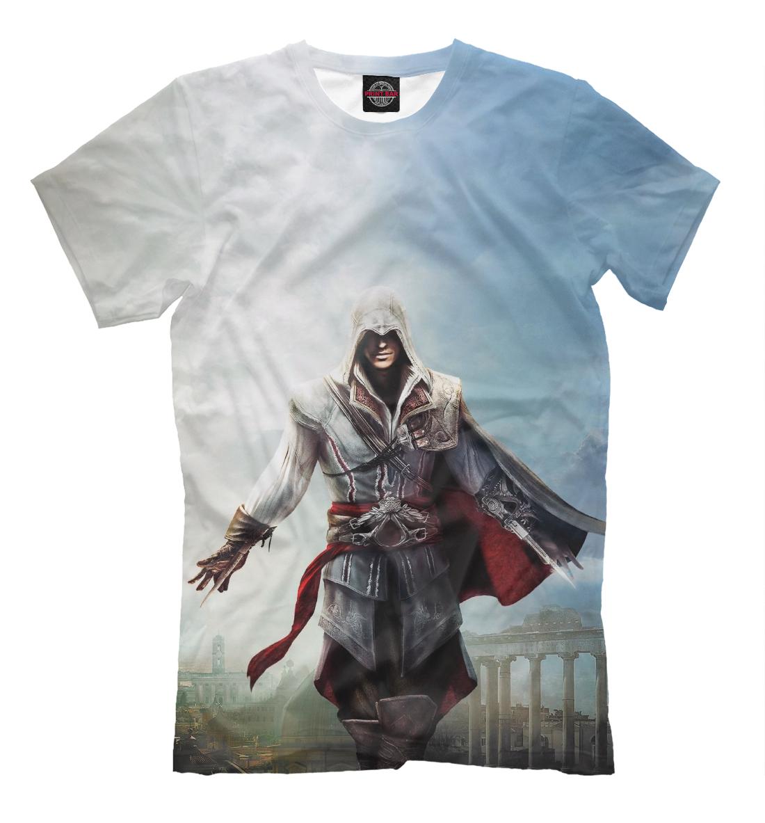 Купить Assassin's Creed Ezio Collection, Printbar, Футболки, RPG-324153-fut-2