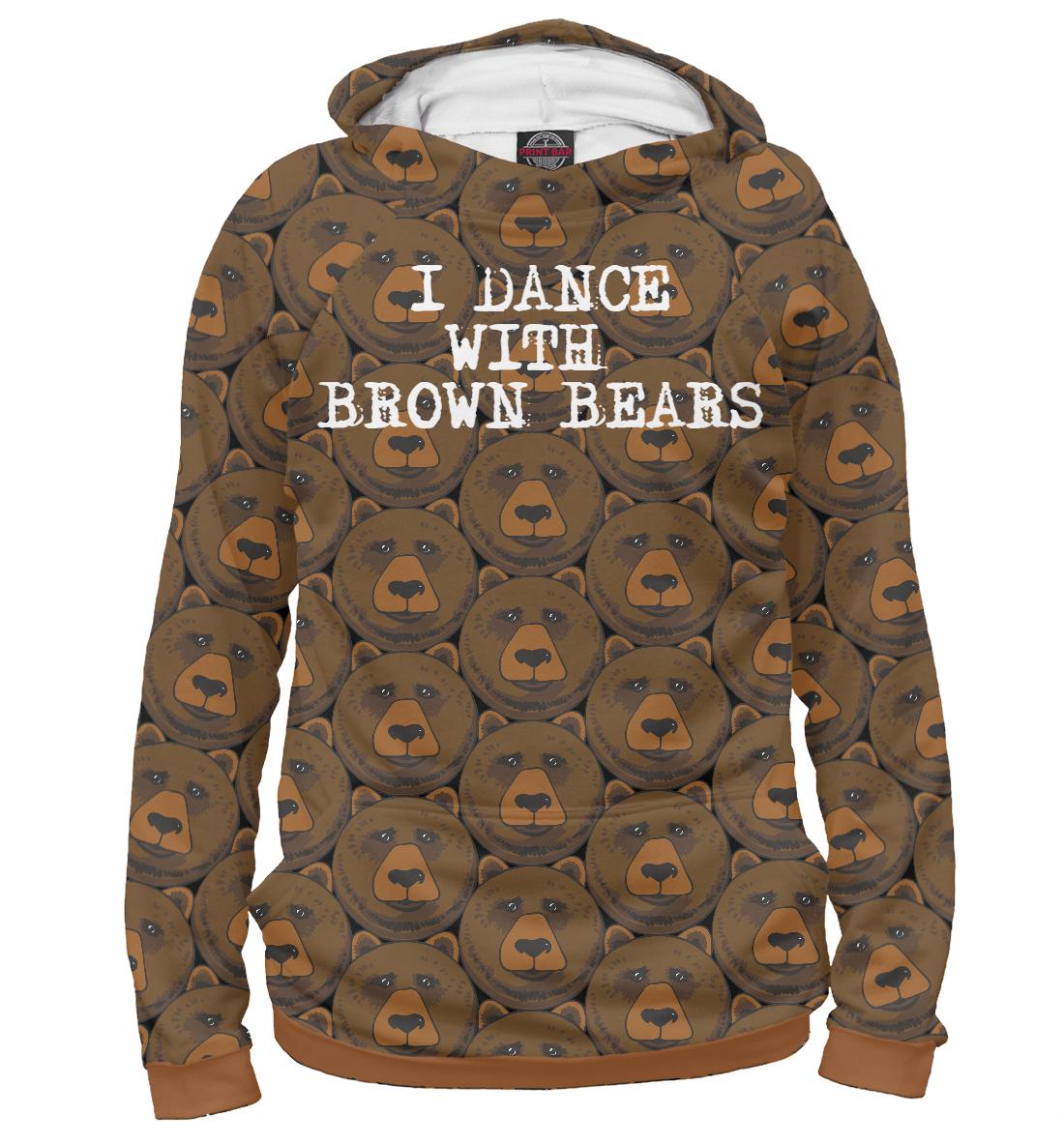 Медвед, Printbar, Худи, MED-229431-hud-2  - купить со скидкой