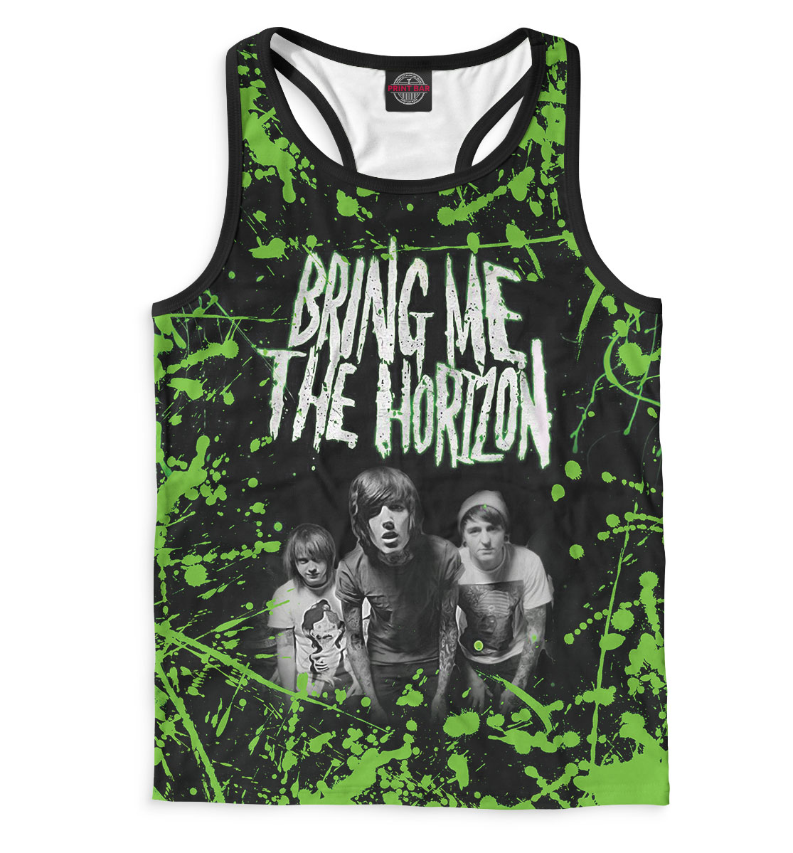 Купить Bring Me the Horizon, Printbar, Майки борцовки, RCK-134983-mayb-2