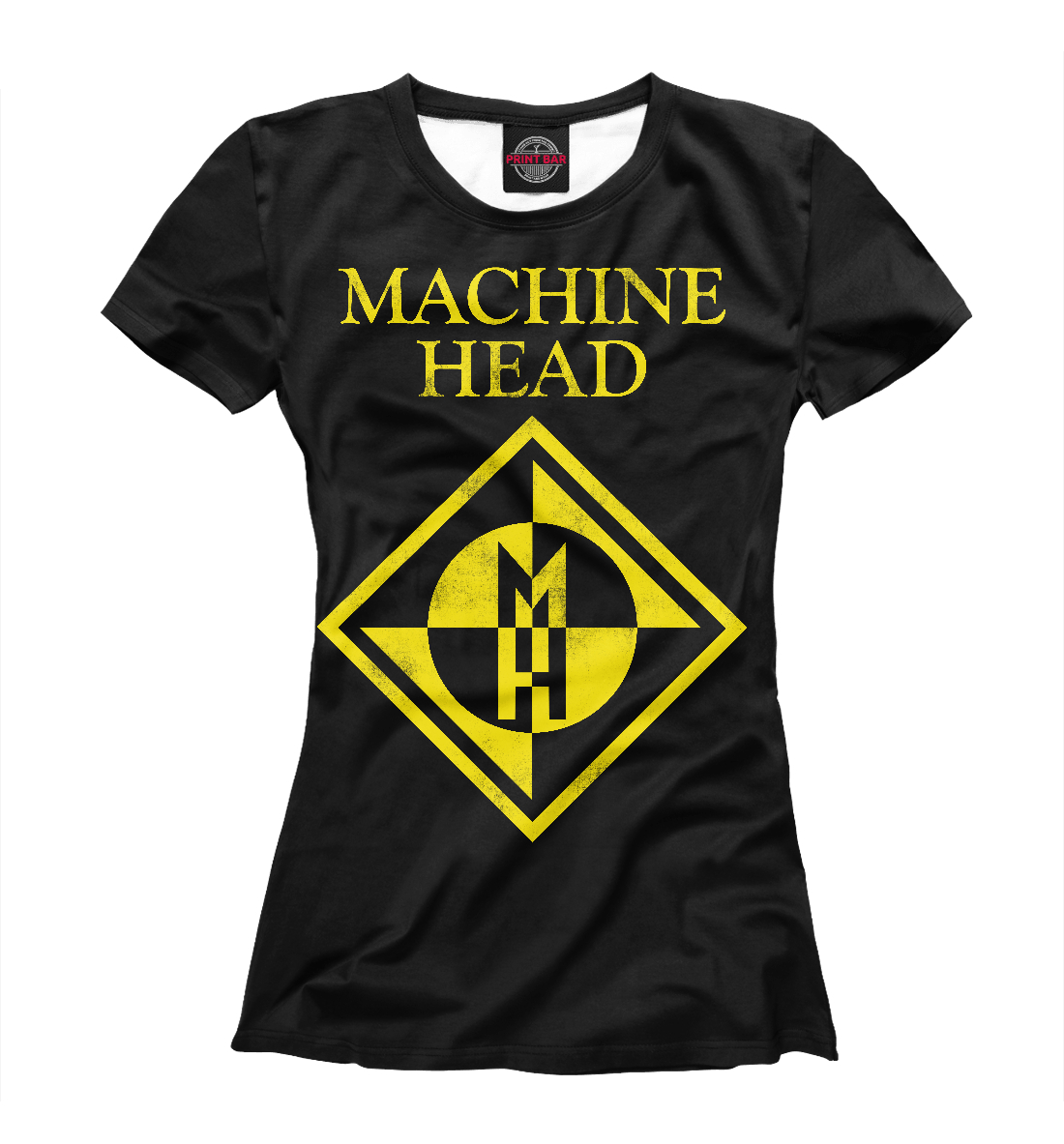 Купить Machine Head, Printbar, Футболки, MZK-410992-fut-1