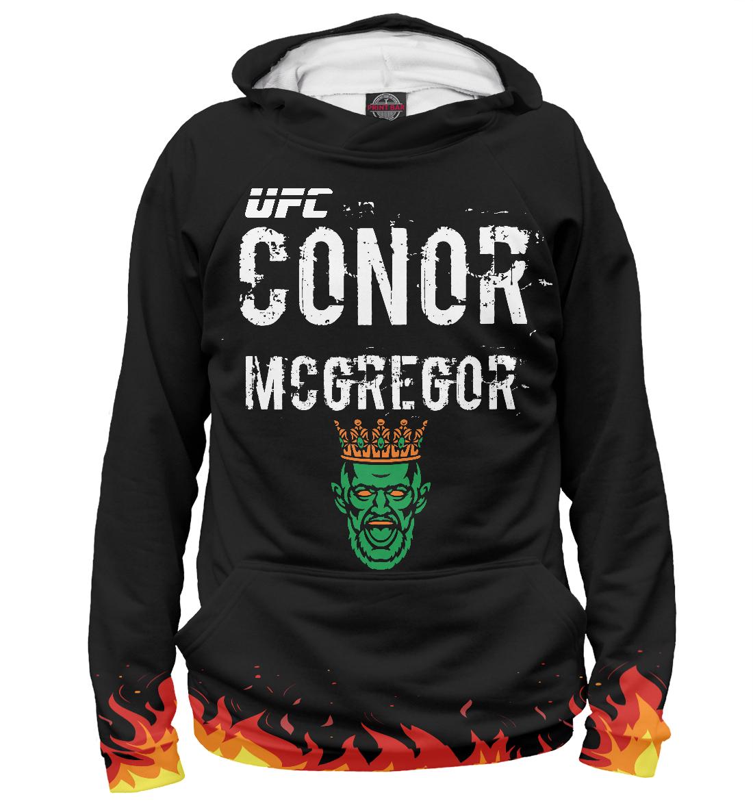 Купить Пламя   UFC Conor McGregor, Printbar, Худи, MCG-542716-hud-2