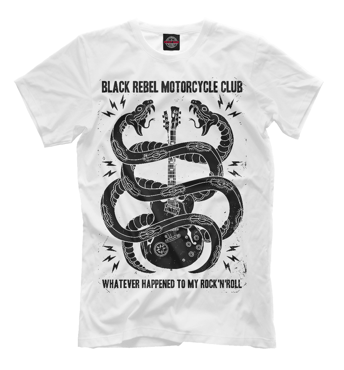 Купить Black Rebel Motorcycle Club, Printbar, Футболки, MZK-701852-fut-2