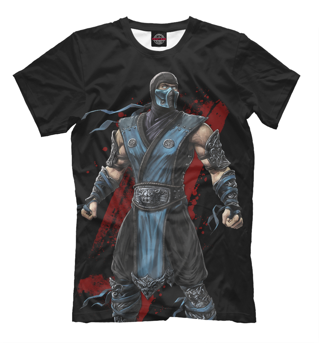 Купить Mortal Kombat: Sub-Zero, Printbar, Футболки, MKB-624401-fut-2