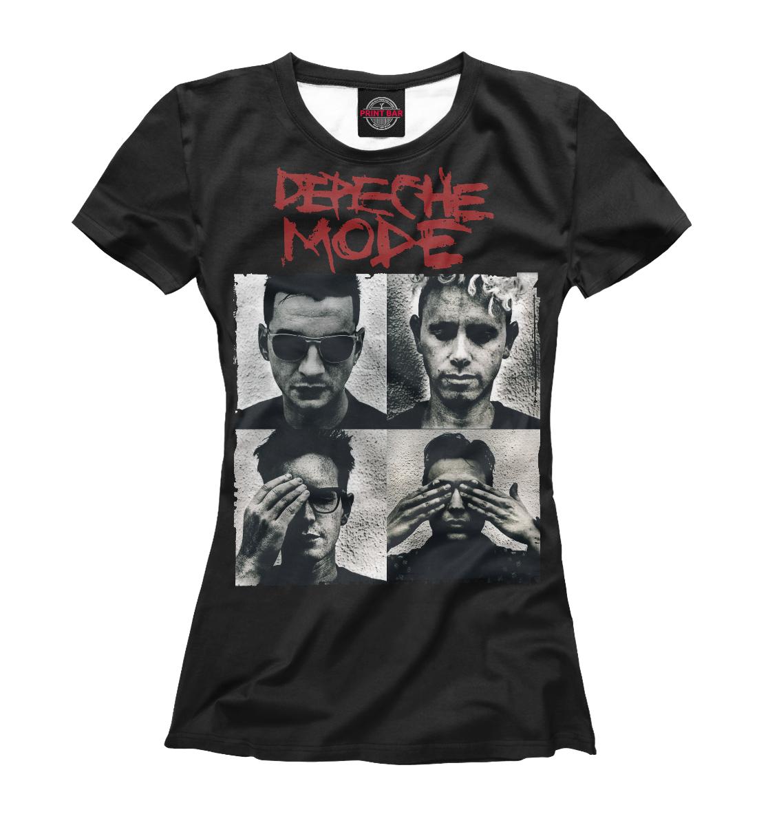Купить Depeche Mode, Printbar, Футболки, DPM-306740-fut-1