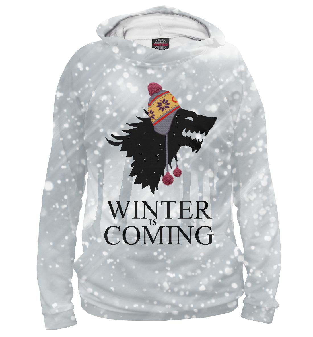 Купить Зима близко, Printbar, Худи, IGR-323519-hud-1