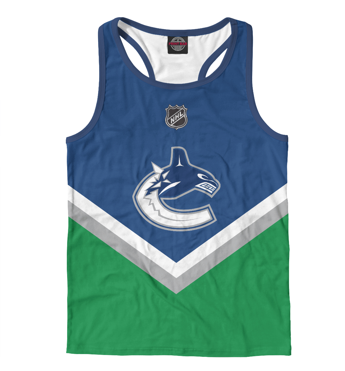 Купить Vancouver Canucks, Printbar, Майки борцовки, HOK-861094-mayb-2