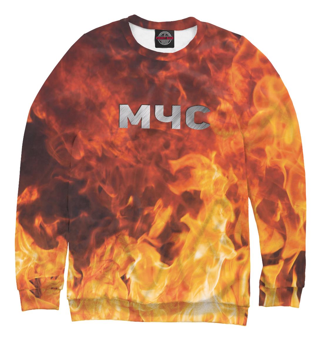 Купить МЧС - Пожарный, Printbar, Свитшоты, MCS-527098-swi-2