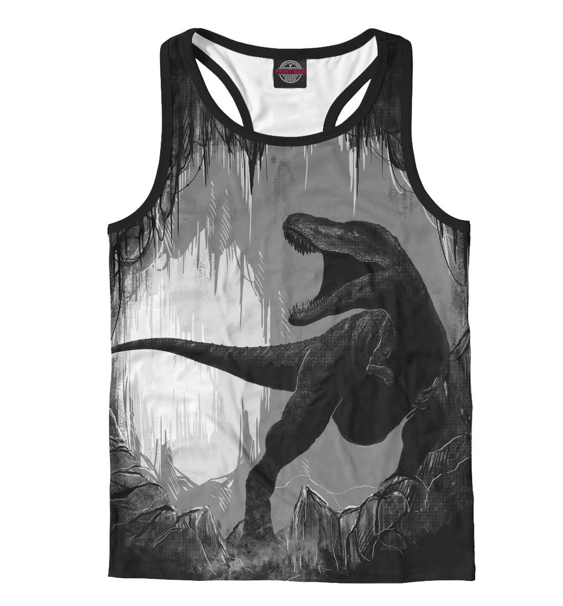 Купить Пещера динозавра, Printbar, Майки борцовки, DAR-893372-mayb-2