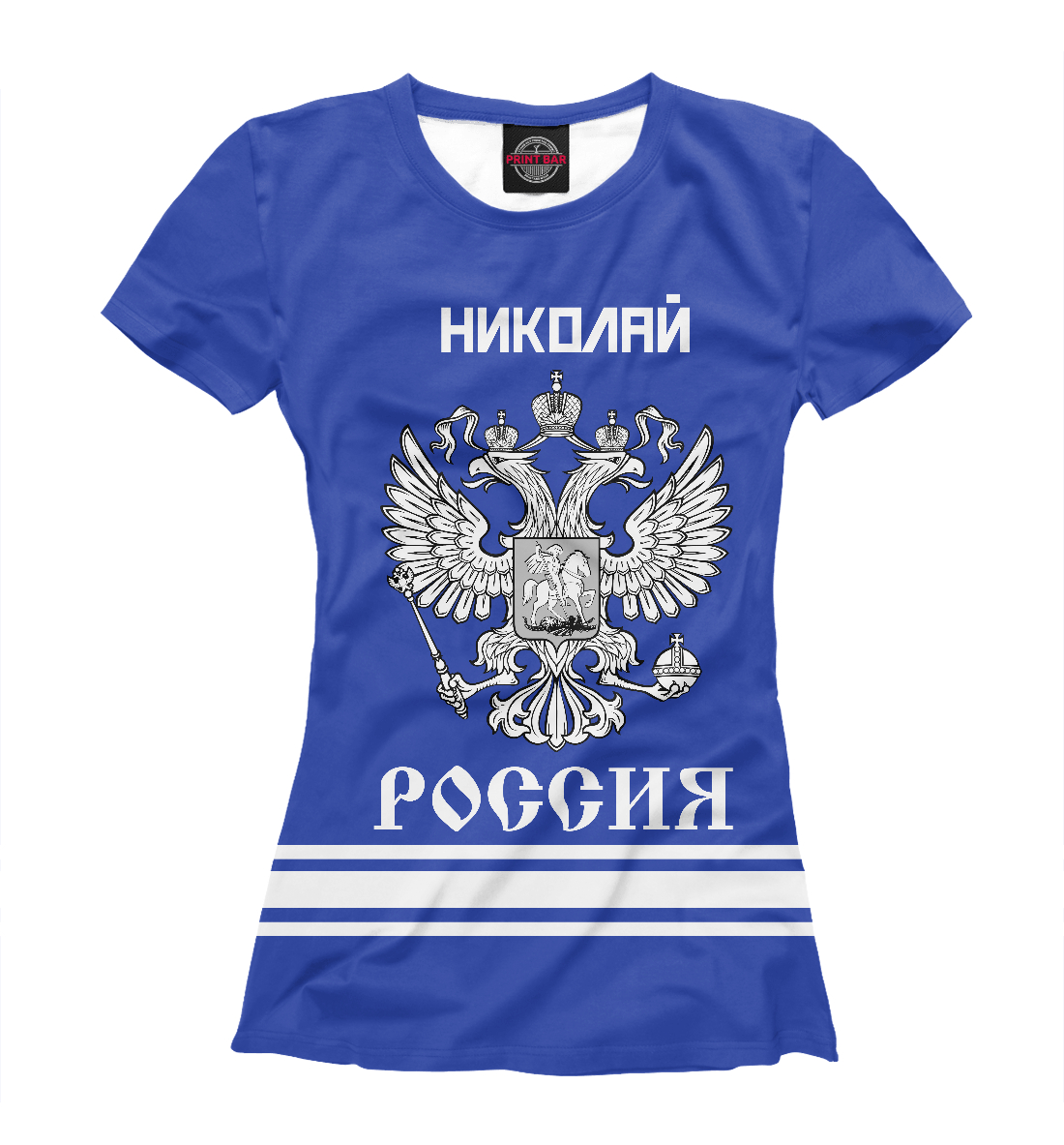 Купить НИКОЛАЙ sport russia collection, Printbar, Футболки, NKL-670967-fut-1