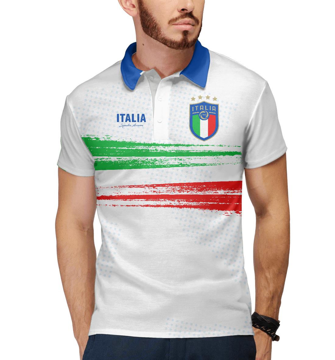 Купить Италия, Printbar, Поло, FNS-889259-pol-2