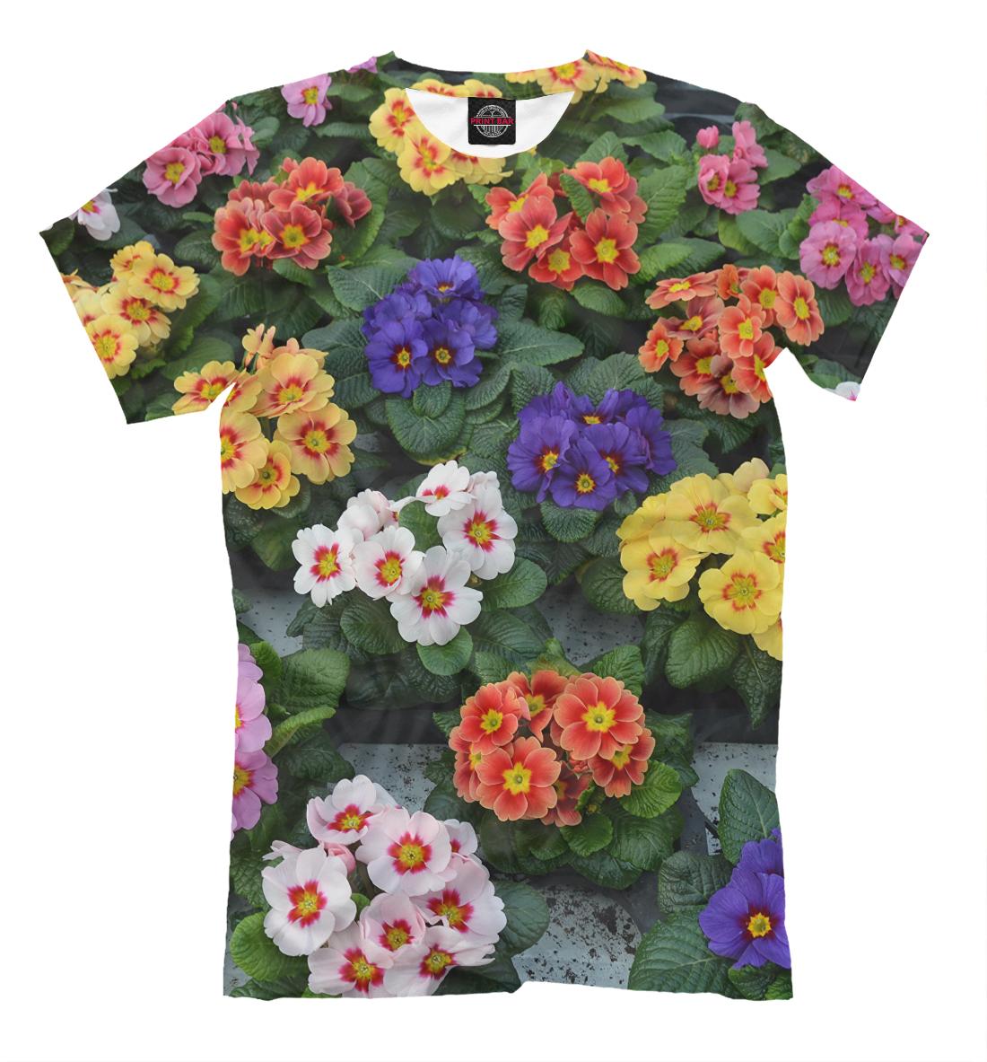 Купить Клумба с цветами, Printbar, Футболки, CVE-672653-fut-2