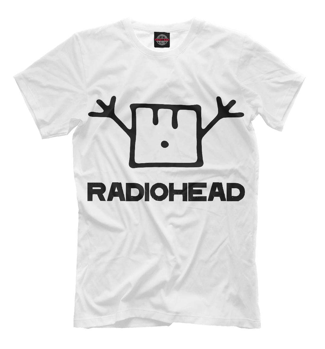 Radiohead, Printbar, Футболки, MZK-142280-fut-2  - купить со скидкой