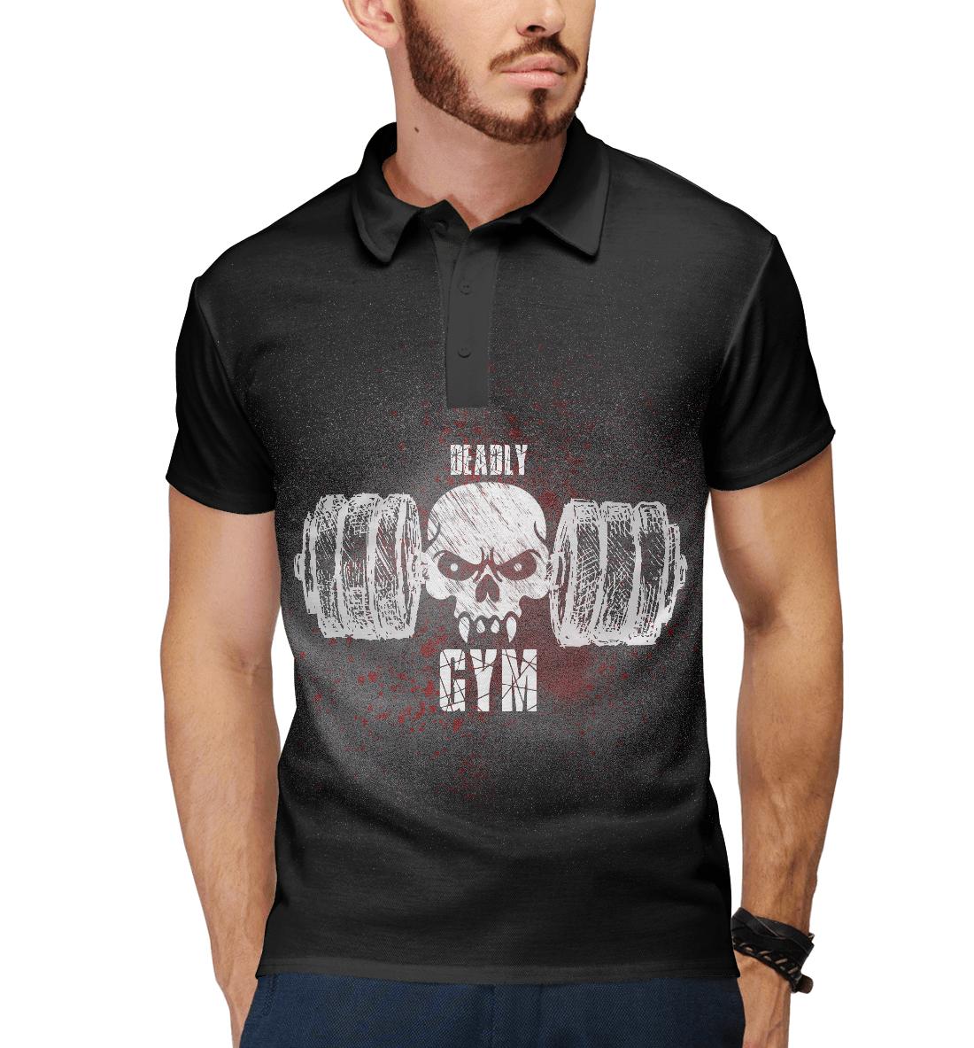 Купить Deadly GYM II, Printbar, Поло, FIT-593977-pol-2
