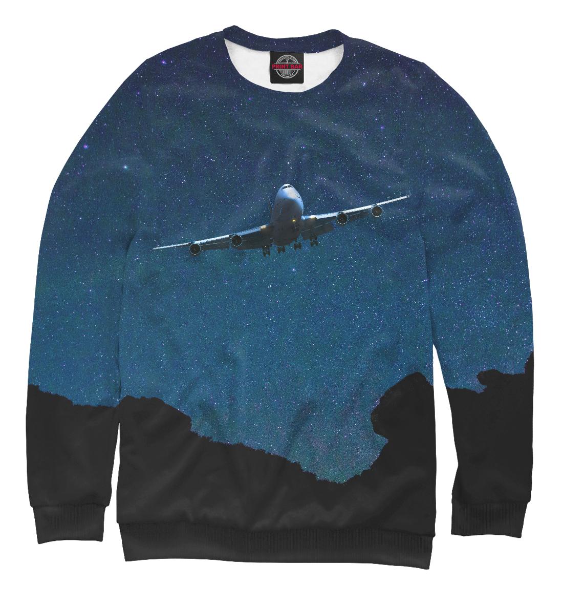 Самолет над горами, Printbar, Свитшоты, APN-930006-swi-2  - купить со скидкой