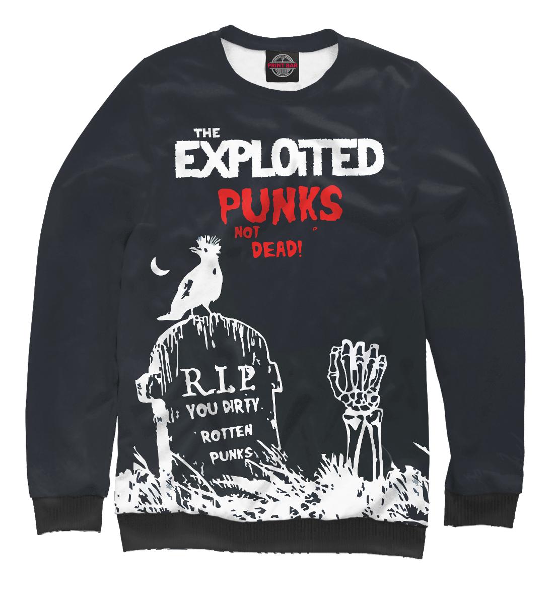 Купить The exploited, Printbar, Свитшоты, TEX-410404-swi-2