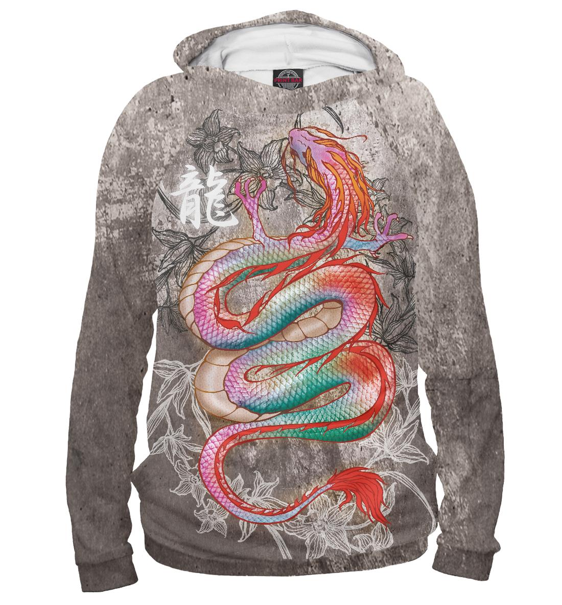 Купить Восточный дракон, Printbar, Худи, DRA-849795-hud-1