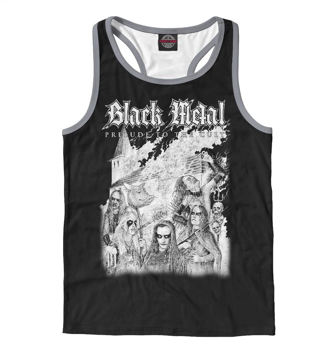 Black Metal, Printbar, Майки борцовки, MZK-267645-mayb-2  - купить со скидкой