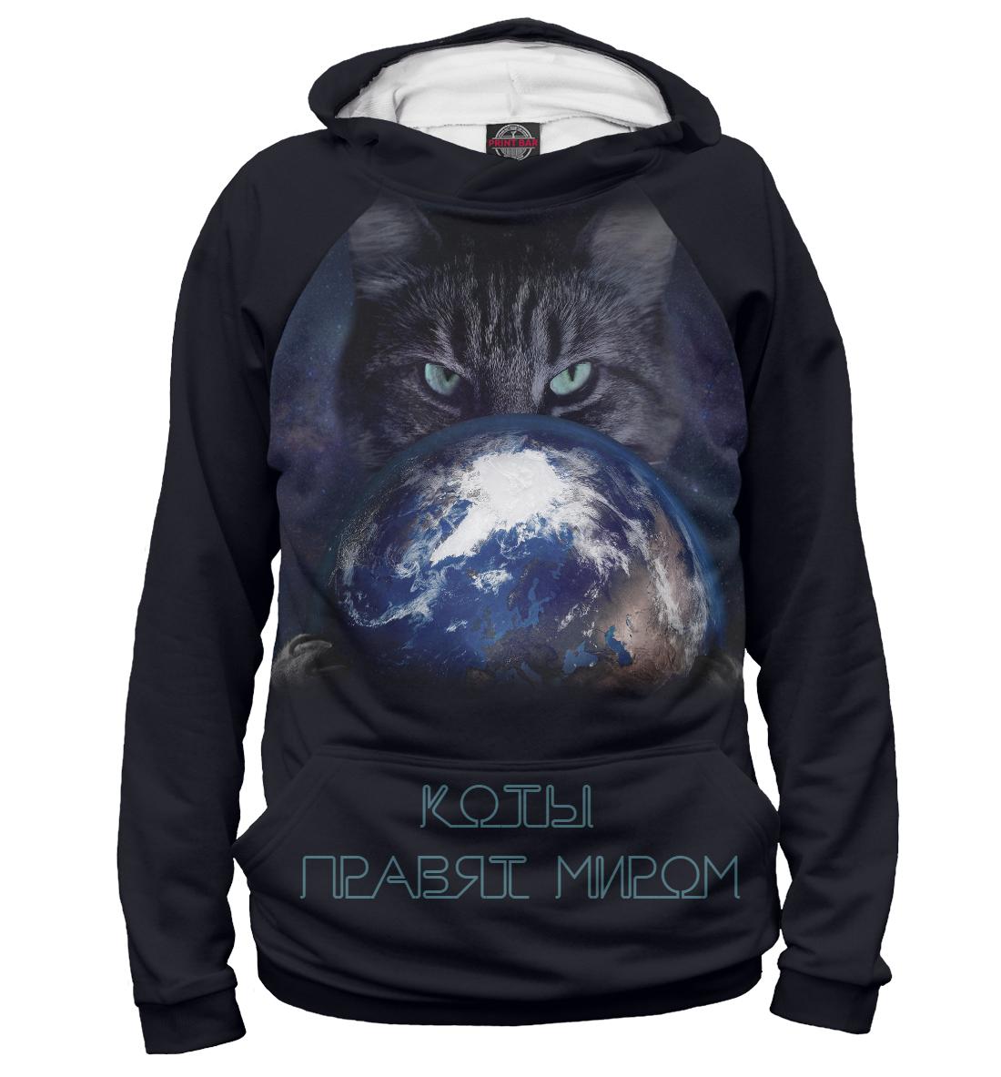 Купить Коты правят миром, Printbar, Худи, CAT-351001-hud-2