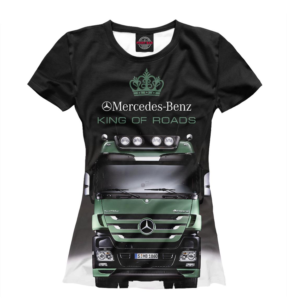 Купить MERCEDES - король дорог, Printbar, Футболки, GRZ-745563-fut-1