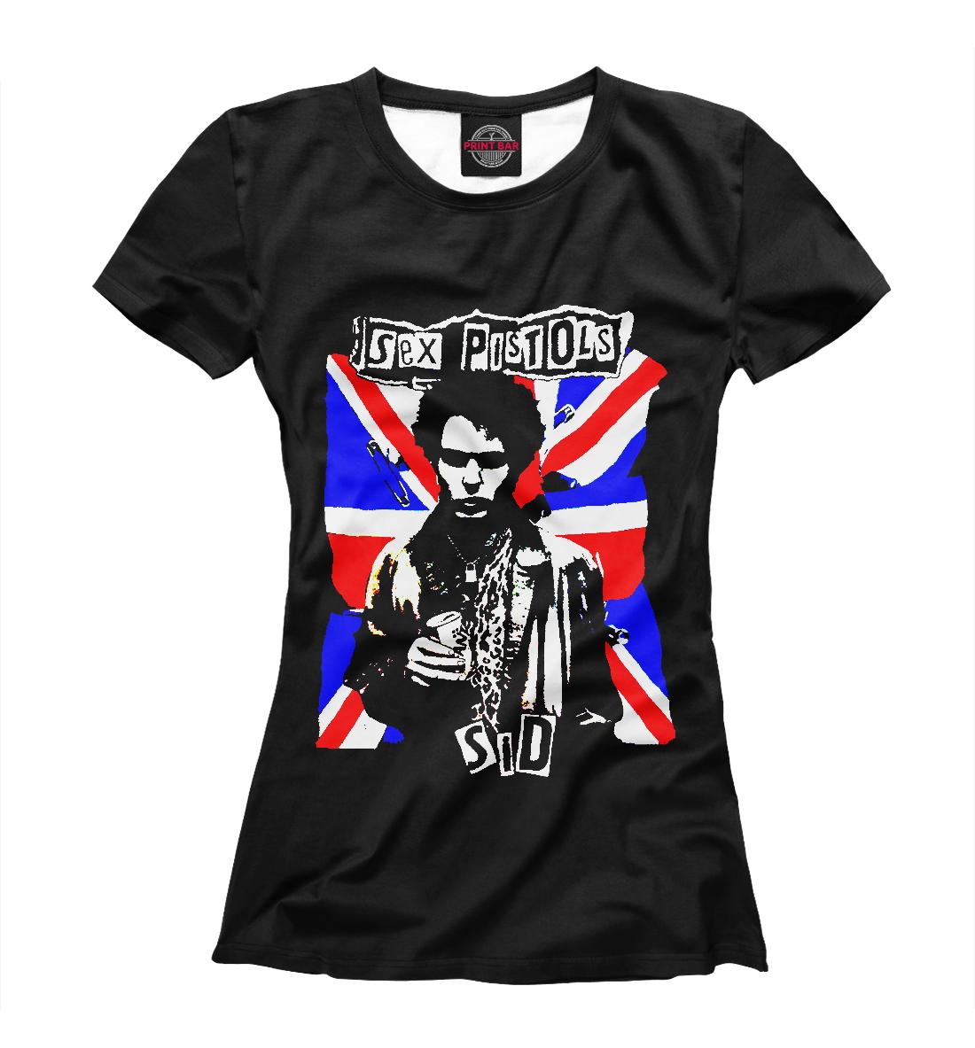 Купить Sex Pistols, Printbar, Футболки, MZK-402797-fut-1