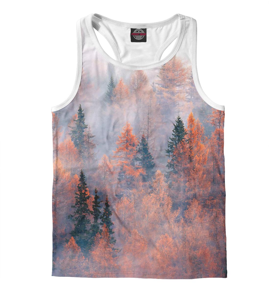 Купить Туман в горах, Printbar, Майки борцовки, PEY-596159-mayb-2