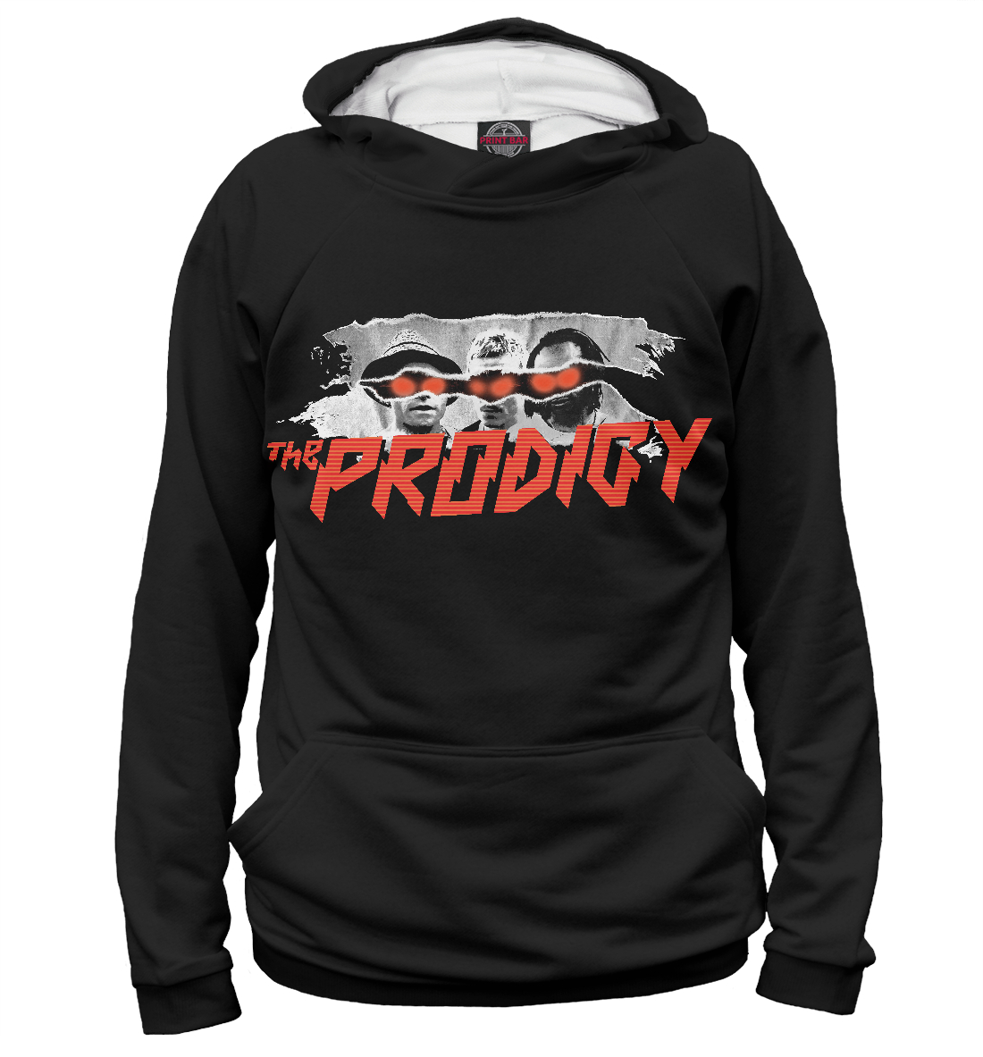 Купить The Prodigy: Invaders Tour, Printbar, Худи, THE-780351-hud-2