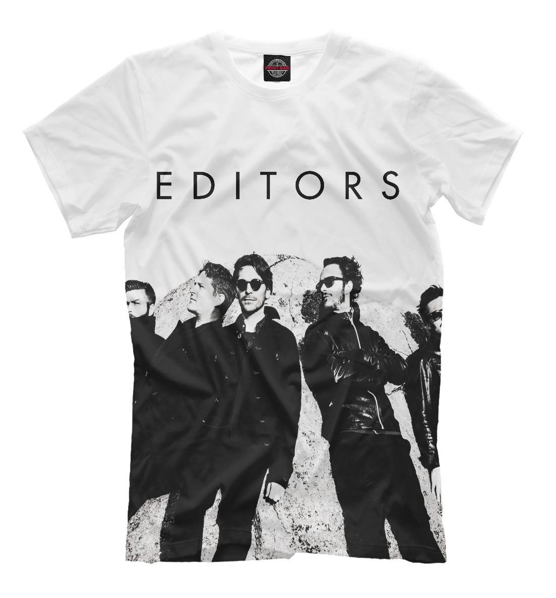 Купить Editors, Printbar, Футболки, MZK-688616-fut-2