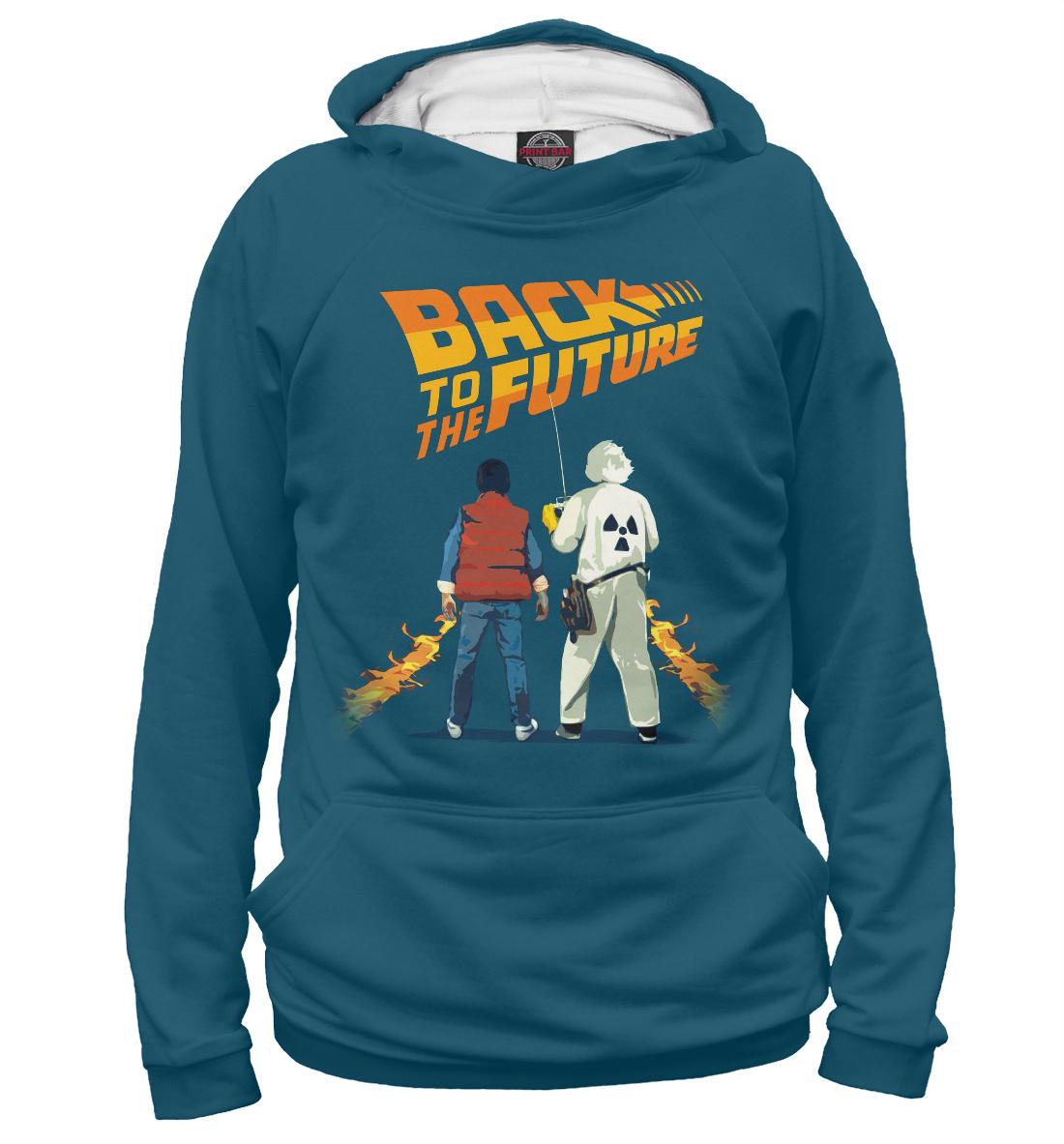 Купить Назад в будущее, Printbar, Худи, CLF-215654-hud-2