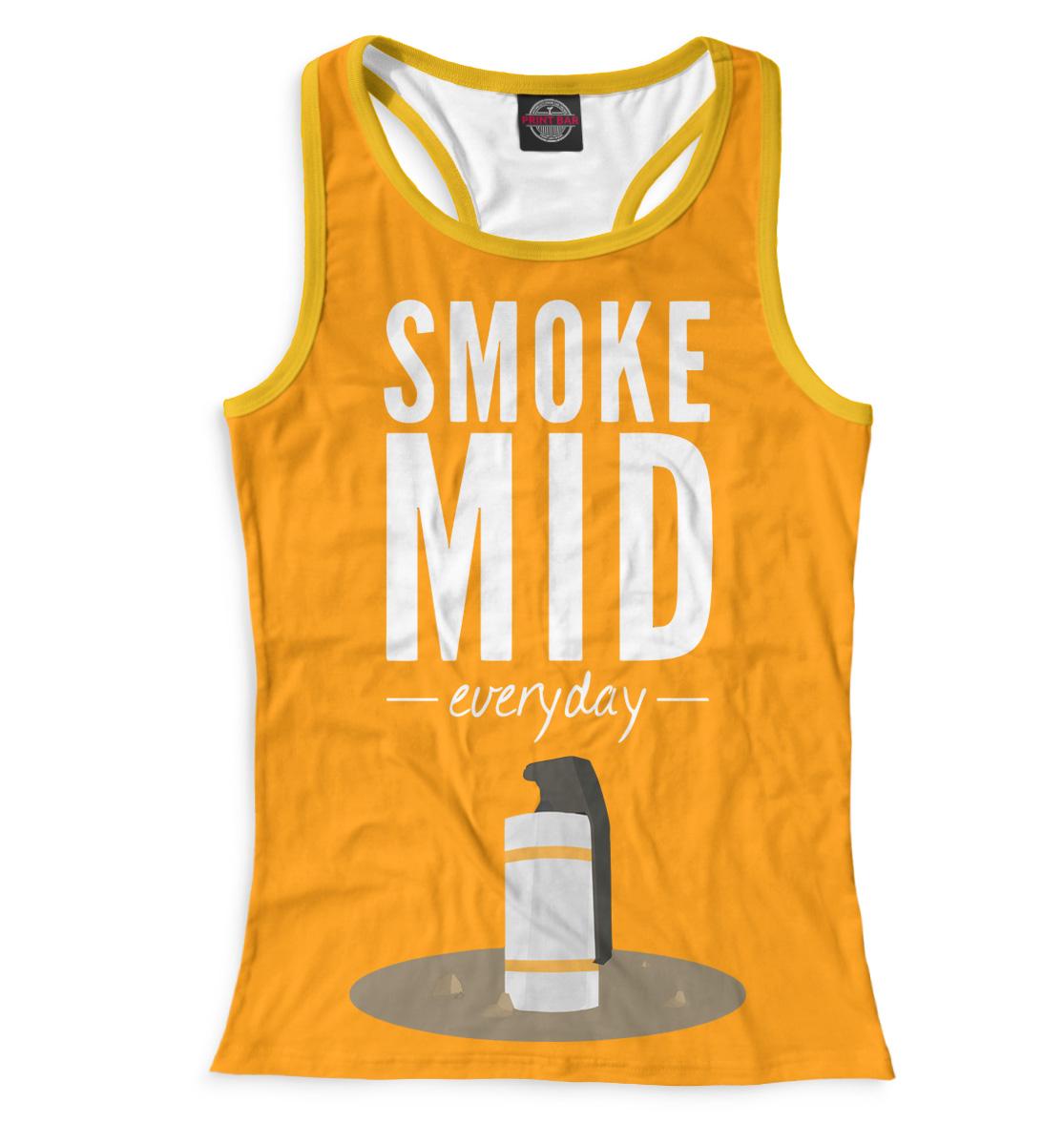 Купить Smoke Mid Everyday, Printbar, Майки борцовки, COU-530048-mayb-1