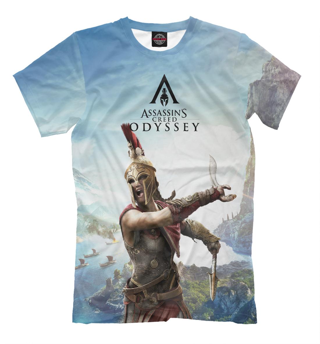 Купить Assassin's Creed Odyssey, Printbar, Футболки, ANC-270238-fut-2