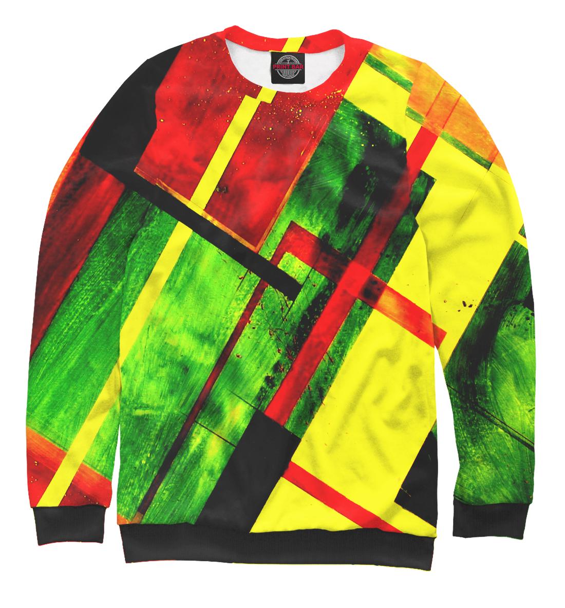 Купить Цветная геометрия, Printbar, Свитшоты, GEO-170619-swi-2