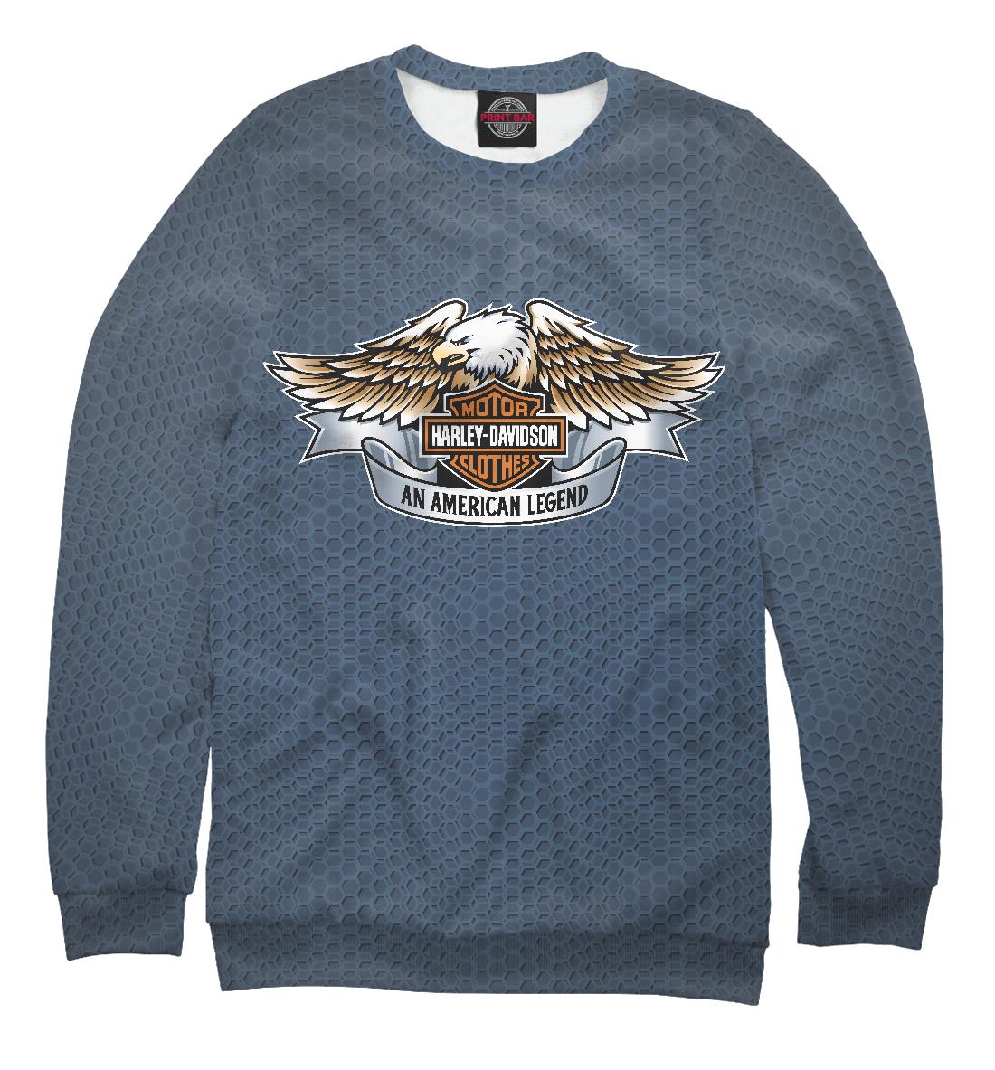 Купить Harley-Davidson An American Legend, Printbar, Свитшоты, HRD-921753-swi-1