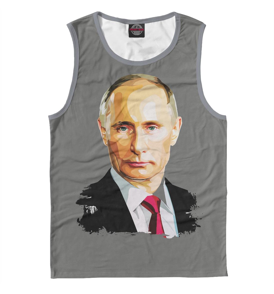 Купить Путин В.В., Printbar, Майки, PUT-905313-may-2