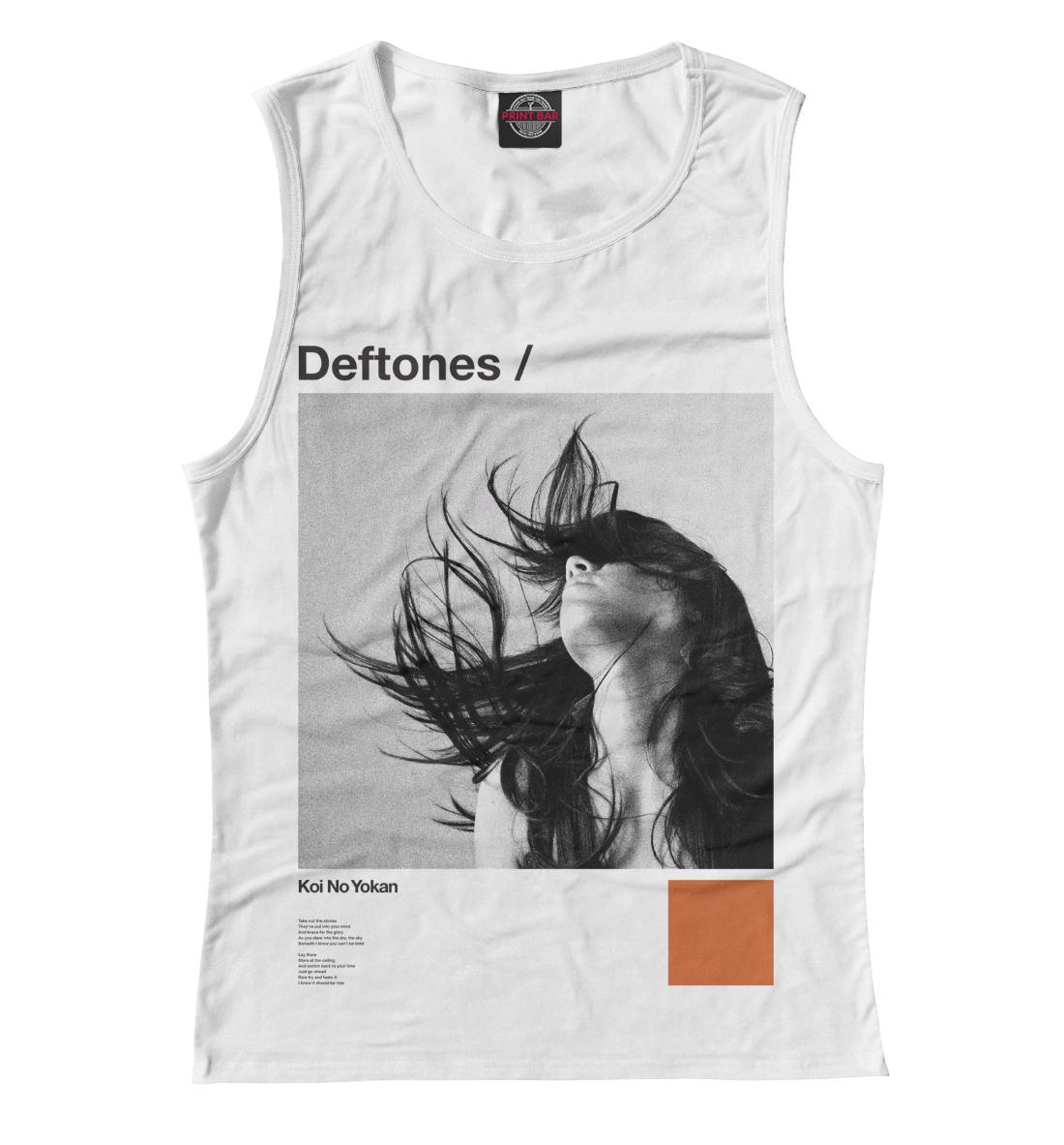 Купить Deftones, Printbar, Майки, MZK-552681-may-1