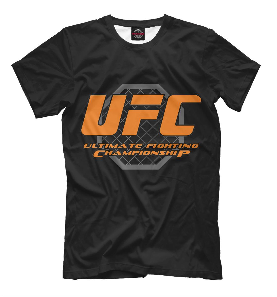 Купить Ultimate Fighting Championship, Printbar, Футболки, MNU-349331-fut-2
