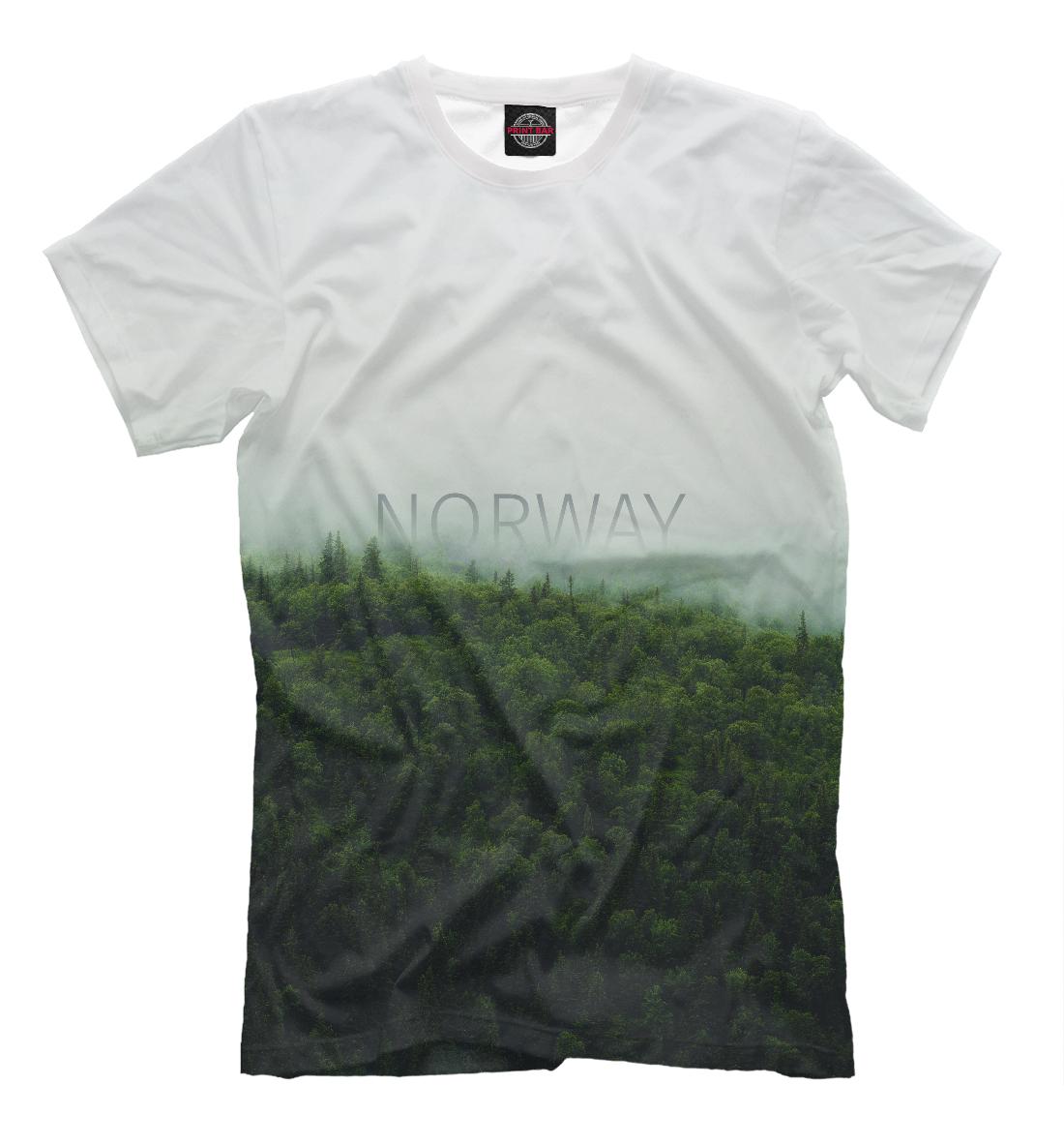 Купить Норвегия, Printbar, Футболки, TRL-376358-fut-2