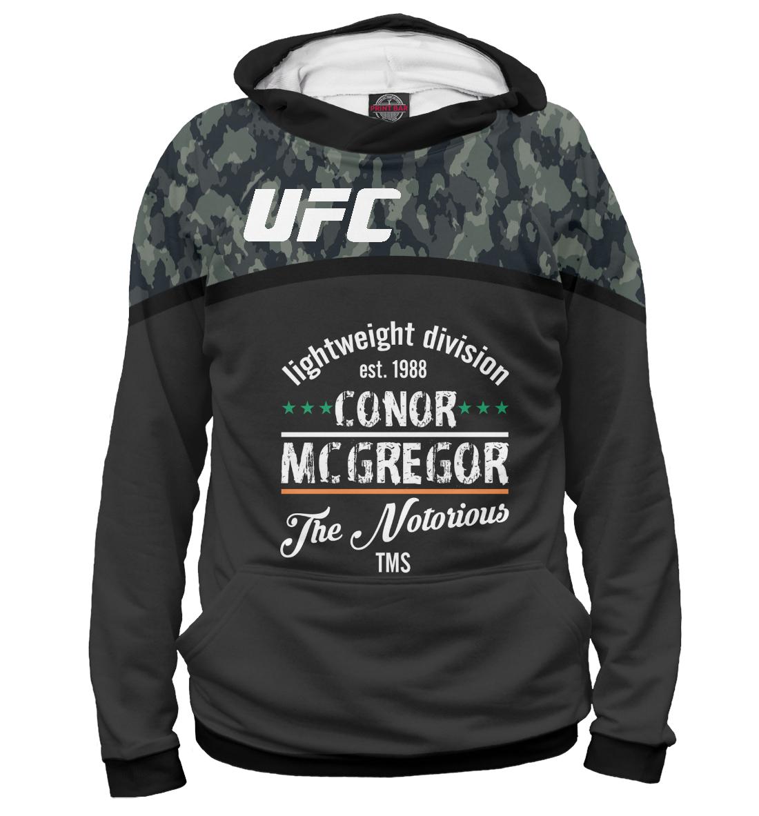 Купить UFC Конор МакГрегор, Printbar, Худи, MCG-547950-hud-2
